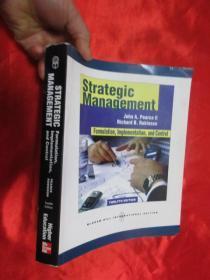 Strategic Management: Formulation, Implementation, and Control     (大16开 ) 【详见图】