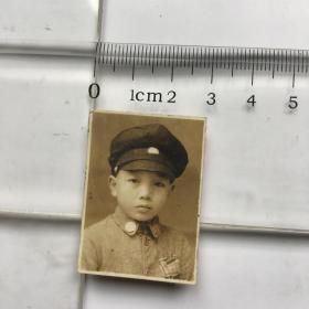 老照片3cm-----国民党小孩