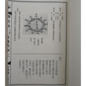 杨公诀二十四山看地法 真诀认龙法 原清代抄本