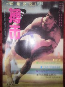 绝版杂志:搏击1993年1~12期 全