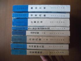 大学数学系自学丛书(8本合售不重复):空间解析几何、微分几何、高等代数(上下册)、近世代数、电子计算机与算法语言BASIC、计算方法、实变函数论
