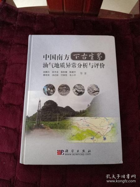 中国南方下古生界油气地质异常分析与评价
