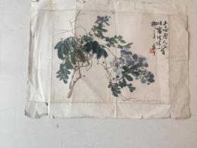 陈半丁册页小画