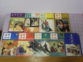 (9本合售)连环画报 1981年第6期、1982年第11期、1983年第2.3.4.10期、1984年第8.12期、1989年第1期