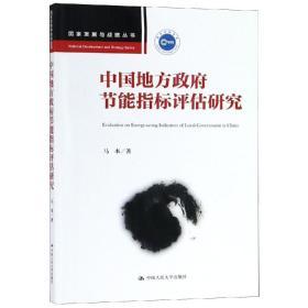 国家发展与战略丛书:中国地方政府节能指标评估研究