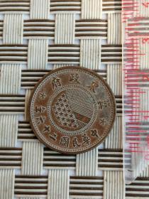 收藏已久的的老铜币0101