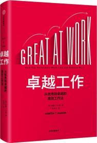 卓越工作:从优秀到卓越的高效工作法(精装)