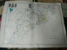 青岛老水文地图