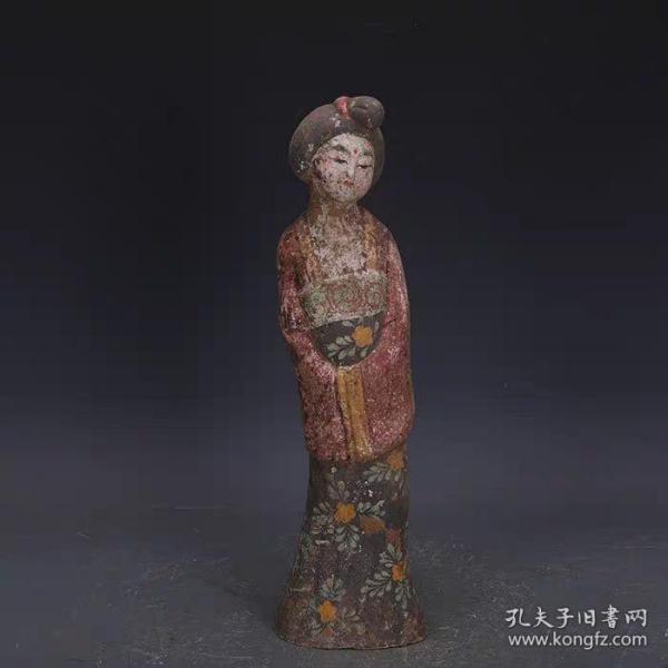 唐仕女乐佣雕塑