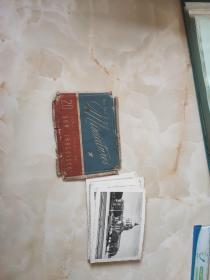 民国外国风景照片一套25张合售带封套