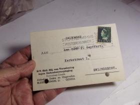 1946年的外国明信片.