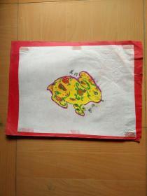 开封儿童画:卯兔