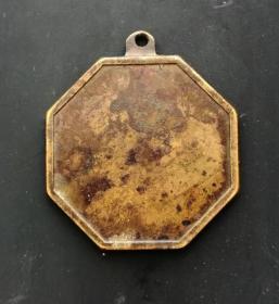 民国时期:六角吉语机制挂花美品,