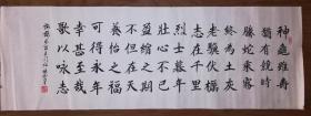 手书真迹书法:杨德山楷书曹操《龟虽寿》