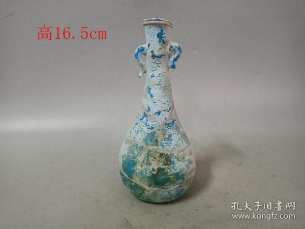 乡下收的战汉老琉璃瓶. 0