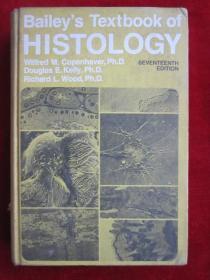 Baileys Textbook of Histology(Seventeenth Edition)贝利组织学教科书(第17版 英语原版 精装本)