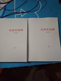 毛泽东选集第六卷和第七卷两本