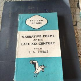 Narrative poems of the late Nineteenth century