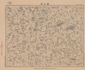民国31年(1942年)《江阴常熟老地图》图题为《顾山镇》(江阴市常熟市老地图)全图范围见图左上角分幅范围图表,全图绘制详细。军事委员会军令部陆地测量总局测绘,江阴县常熟县地理地名历史变迁重要史料。原图高清复制。裱框后,风貌佳。