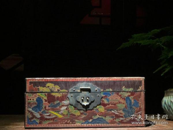 木胎漆器收纳盒