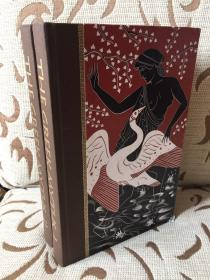 Greek myths by Robert Graves — 格雷夫斯《希腊神话》folio society 出品 Grahame Baker插画 精装两卷本