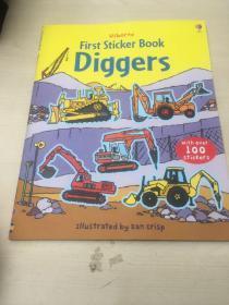 First Sticker Book: Diggers