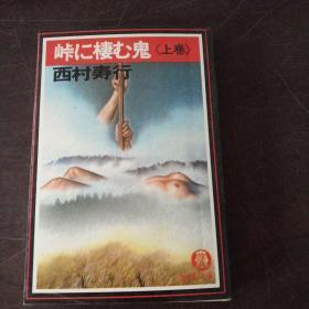 峠に栖む鬼 (上巻)(日文原版,文库版,软精装有护封)