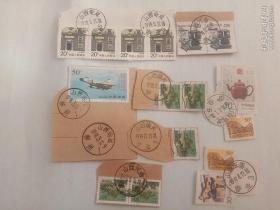 邮票   邮戳