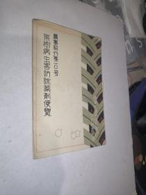 果树病虫害防除药剂便览【有破损,有红色铅笔划痕,有印章,见图, 日文版】
