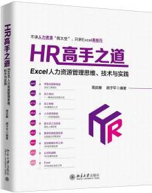HR高手之道:EXCEL人力资源管理思维.技术与实践