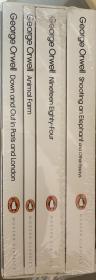 乔治·奥威尔文集  全4卷 带套盒    包括其最有影响的《动物庄园》《1984》等  全新 套盒未拆封