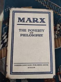《marx the poverty of philosophy》马克思哲学的贫困