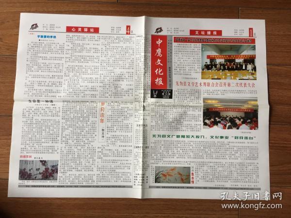 《中鹰文化报》2011年7月28日