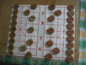 东北鼓形老象棋,实木象棋【24*80规格】