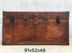 【大尺寸樟木箱】民囯樟木箱