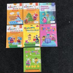 瑞思学科英语 Classroom Connection Book(一个系列7本合售)