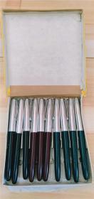 文达牌(108)高级铱金笔【钢笔十支一盒】【全新未用】