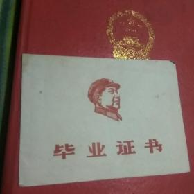 文革期间北京厂西门小学毕业证书