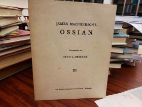 James Macphersons Ossian