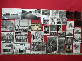 原况散页老相册发布第83--中国援助喀麦隆共和国拉格都水电站工程(1978-1984年)及云南邱北县六郎洞电站(1960年)、军旅、旅游,其他合影等共36张相关黑白老照片及底片、老相片、老像片、老资料、老档案