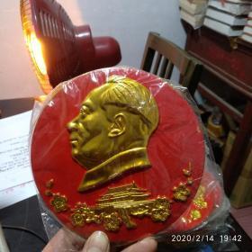 直径14厘米毛主席像章摆件(货号9)