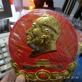 直径14厘米毛主席像章摆件(货号17)