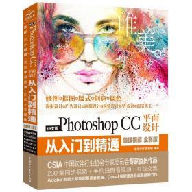中文版PHOTOSHOP CC平面设计从入门到精通(微课视频.全彩版)(唯美)