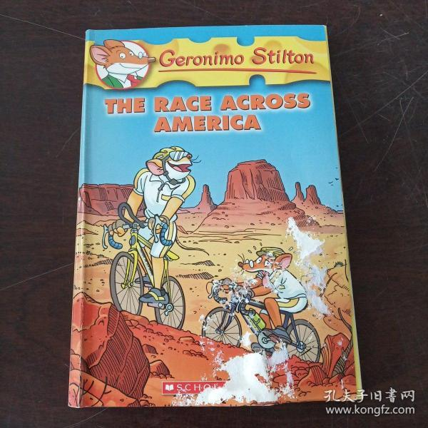Geronimo Stilton #37: The Race across America  老鼠记者37:穿越美国 英文原版