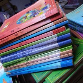九年义务教育三年制初级中学教科书 英语 第一册(上下册)第二册(上下册)第三册(五本合售)