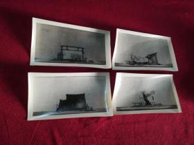 戏曲资料老照片……《夺印》背景照片(4张)