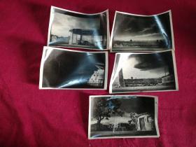 戏曲资料老照片……《平原作战》背景照片(5张)
