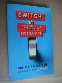 Switch:Moeilijk Is 荷兰语原版 大32开
