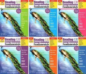 Reading Comprehension Fundamentals 1-6册,G1(一年级)到 G6(六年级)