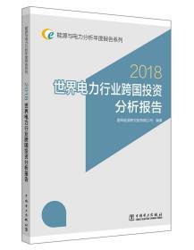 (2018)世界电力行业跨国投资分析报告能源与电力分析年度报告系列